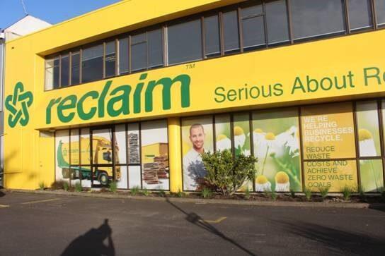 Reclaim Site Branding